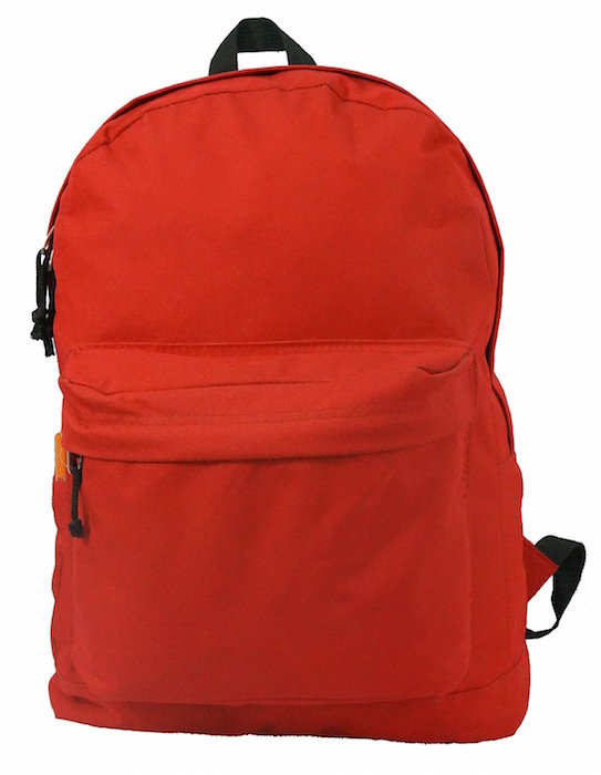 Classic Bookbag Basic Backpack Simple Student School Book Bag Casual Daily  Daypack 2eca4b82980c6
