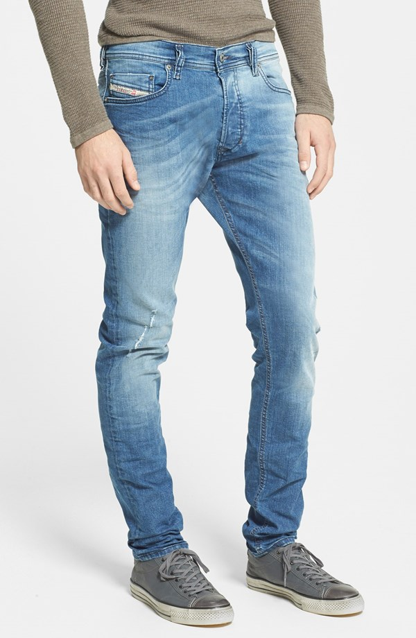 a876dfe98ad Diesel 'Tepphar' Skinny Fit Jeans (0609R) | Blingby