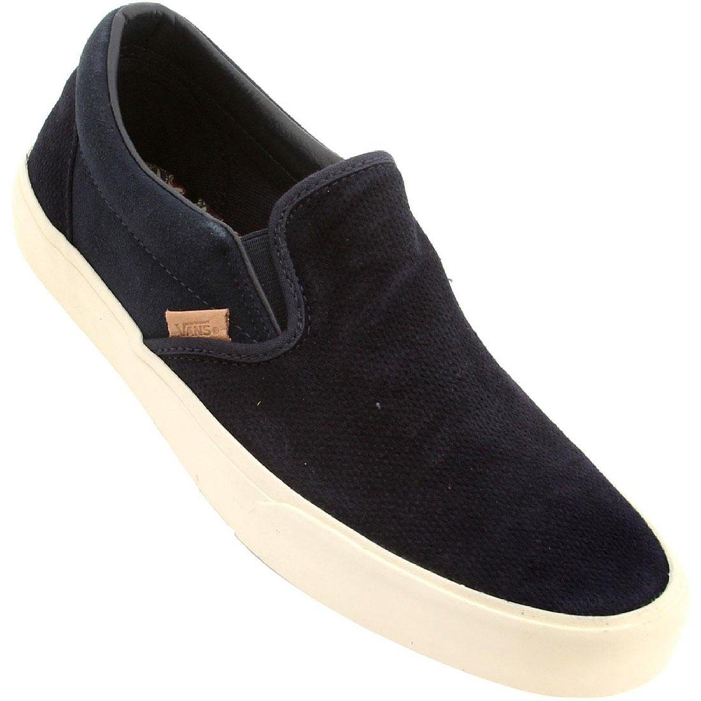 05c4dd7e587 Vans Classic California Knit Suede Slip-On Men s Sneaker