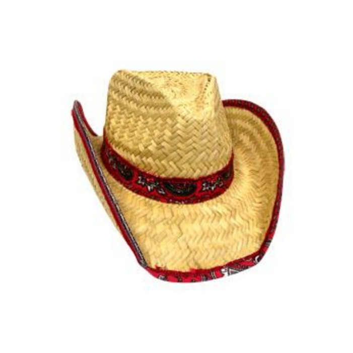 Cowboy Hat With Rolled Bandana  539ee60f78c