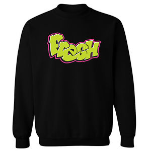 Fresh Prince Of Bel Air Spray Style Logo Unisex Sweater Sweatshirt Jumper
