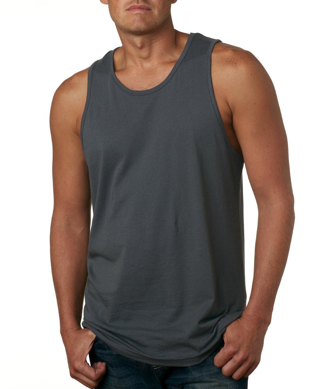 3633 Next Level Men's Cotton Jersey Grey Tank Top