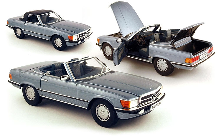 mercedes benz 300 sl 1986 diecast model car blingby. Black Bedroom Furniture Sets. Home Design Ideas
