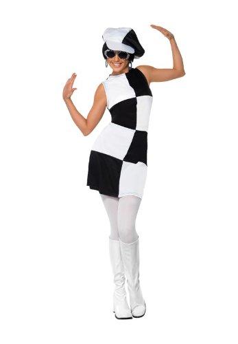 Smiffy's Women's 1960's Party Girl Costume