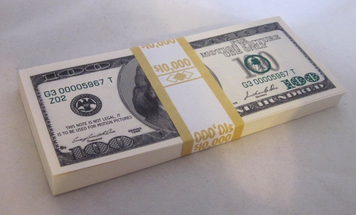 $100 Bill Style Filler great for Movie TV Film Production