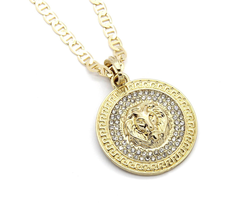 Gucci Gold Chain Necklace Gold Tone 24 Gucci Chain