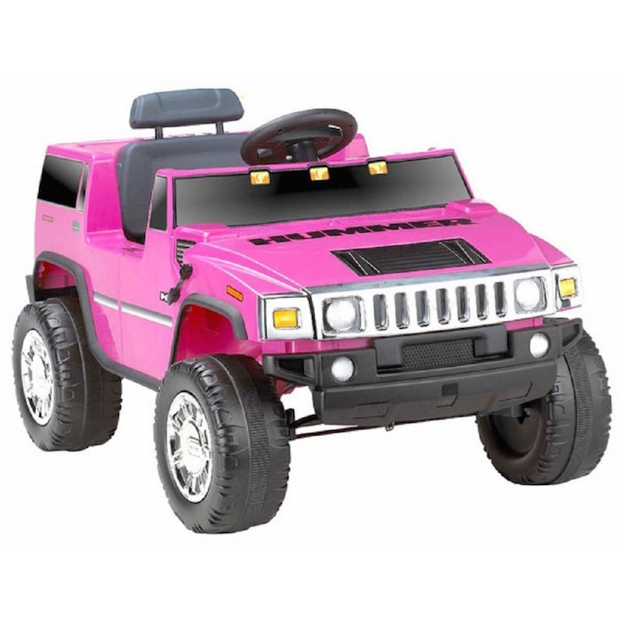 fisher price hummer 6v battery powered jeep battery powered kids car pink