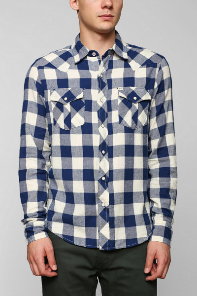 Checkered Button Down Shirt | Is Shirt
