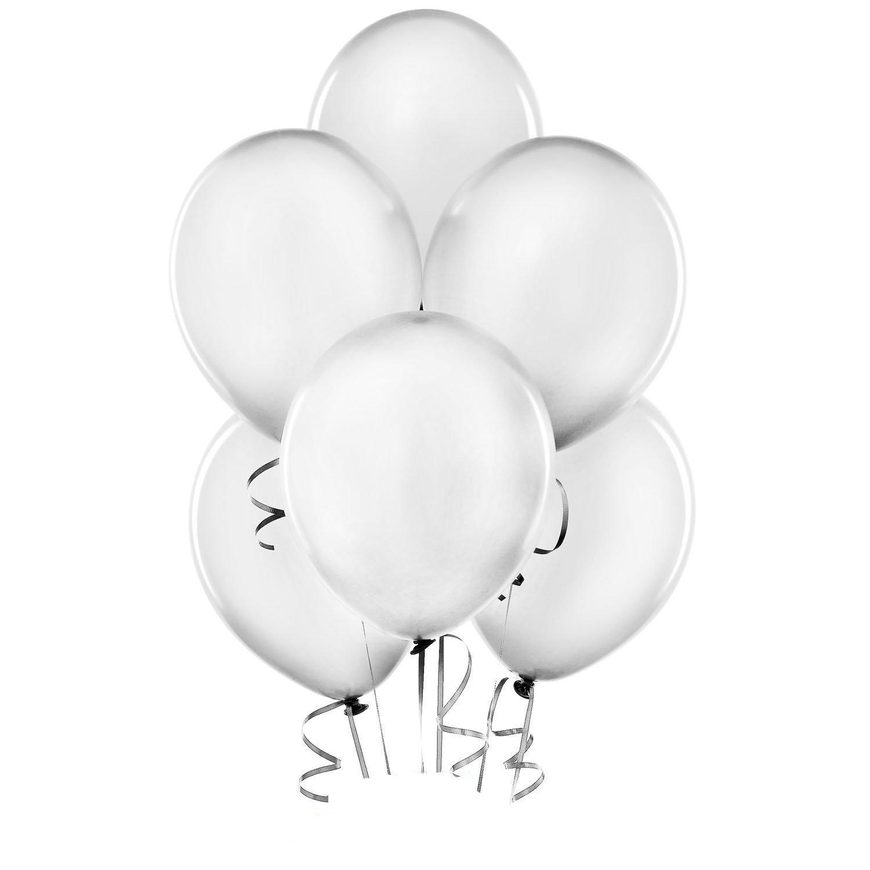 11 silver metallic balloons 2 dozen bulk blingby for Silver cloud balloons