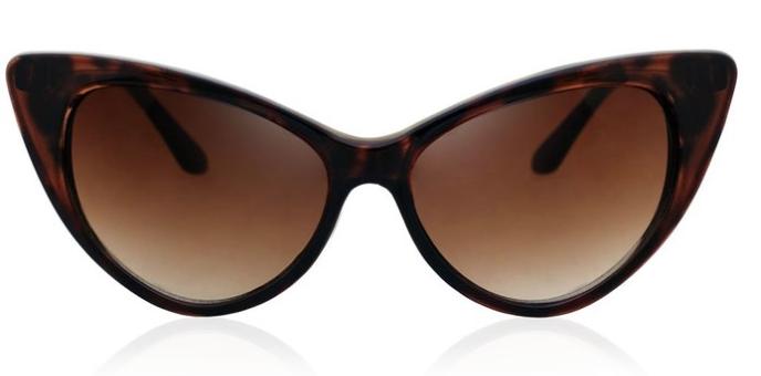 BIRCH's Retro Vintage New Cat Eye High Pointed Fashion Sunglasses