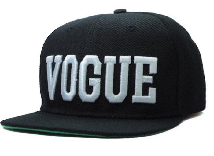 Cool Kings Black Letter Vogue Snapback Cap Hat For Men And Women Baseball  Cap ca3a52a9272