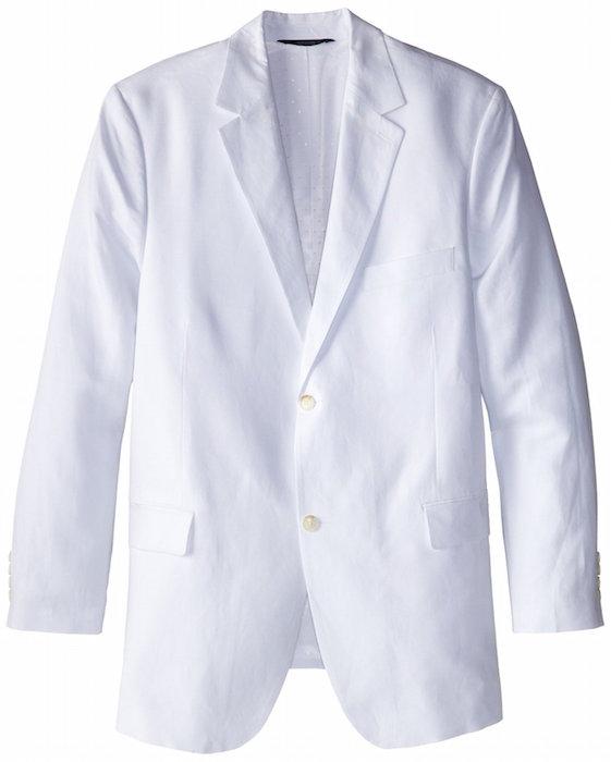 Perry Ellis Mens Big Tall Linen Suit Blazer Blingby