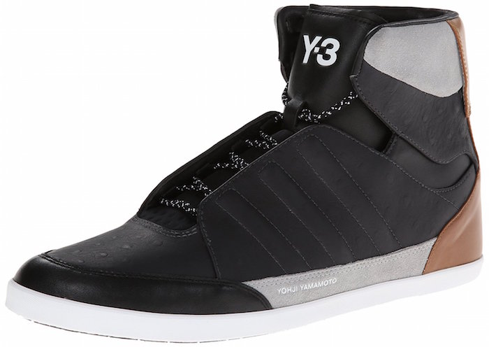 00baa8ace85fe Adidas Y3 Honja High Men s Shoes Black M25693