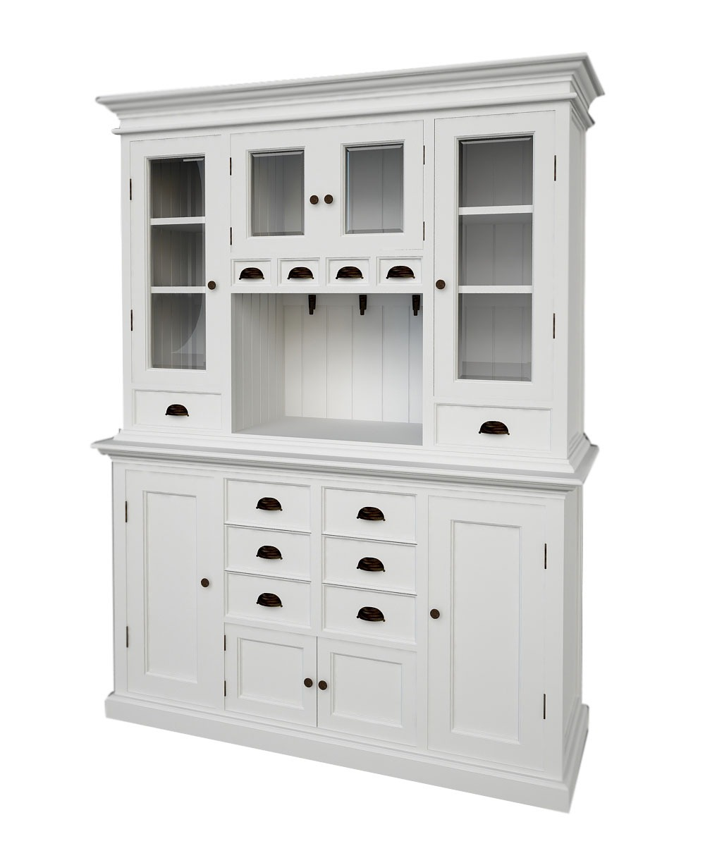 Belgravia painted kitchen buffet hutch blingby - Meuble buffet ikea ...