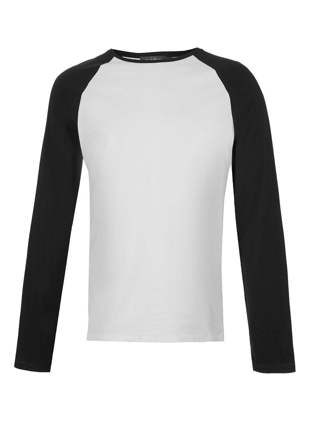 Long Sleeve Black And White Shirt Artee Shirt
