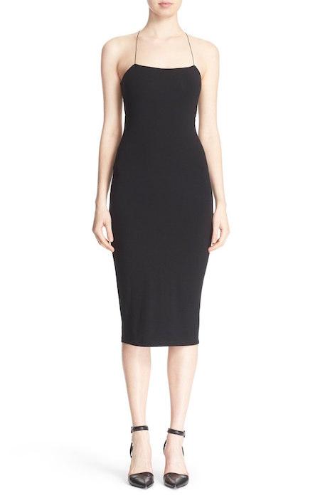 604fd088461 T by Alexander Wang Stretch Modal Camisole Body Con Dress