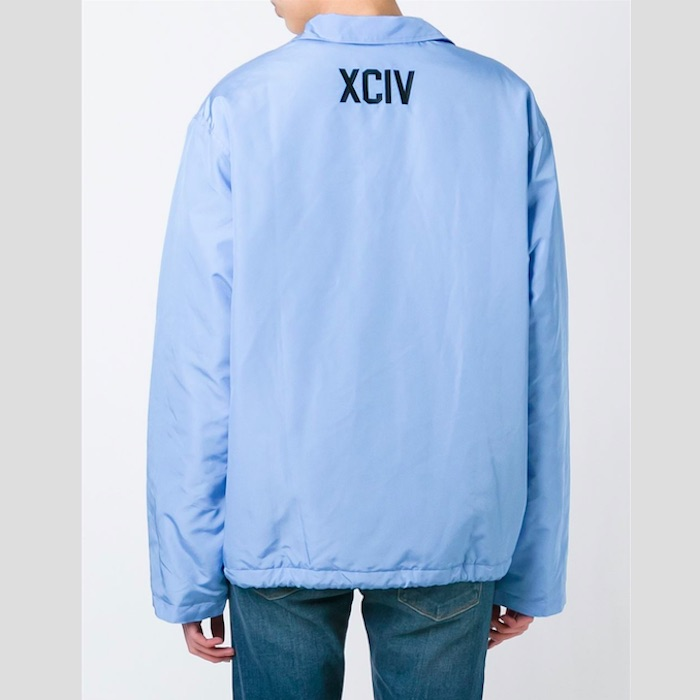 GCDS  logo patch coach jacket