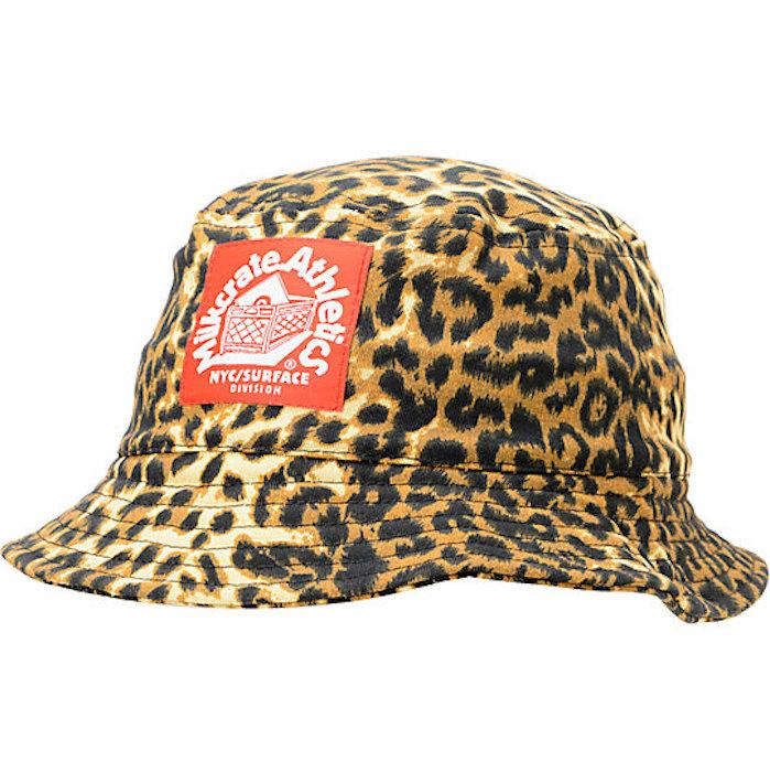 d896c0e015939 Milkcrate Athletics Cotton Bucket Hat - Leopard Print