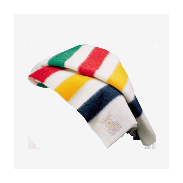 HUDSON'S BAY COMPANY Iconic Point Blanket Multistripe