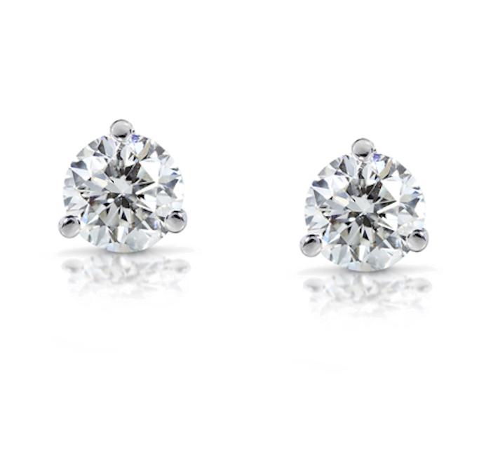 Carbon & Hyde Diamond Studs