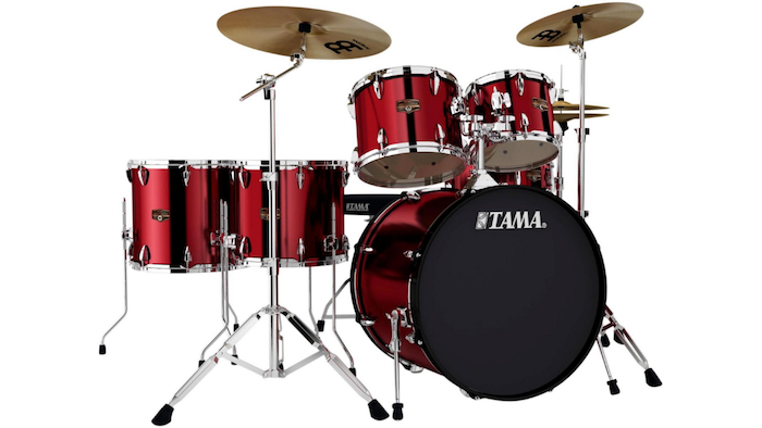 tama imperialstar 6 piece drum set with cymbals blingby. Black Bedroom Furniture Sets. Home Design Ideas