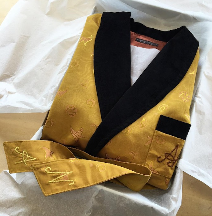 Men\'s Custom-Made Dressing Gowns and Smoking Jackets | Blingby