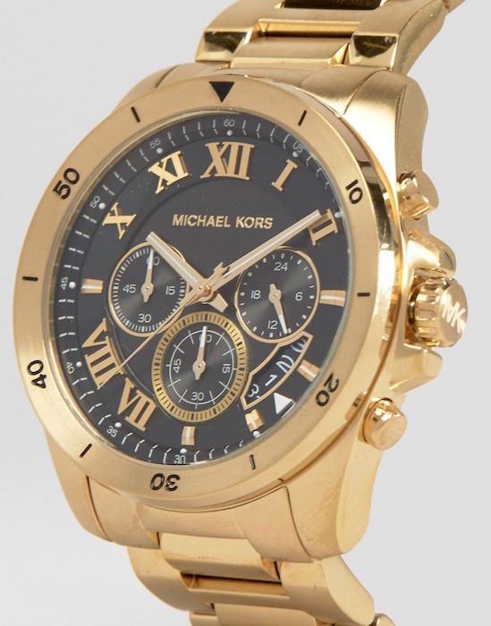 Золотые часы michael kors мужские