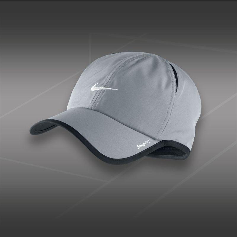 923ef3d4e Nike Dri-Fit Featherlite Hat Light Grey   Blingby