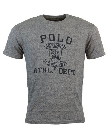 a8f9400c Polo Ralph Lauren Mens Classic Fit Graphic T-Shirt