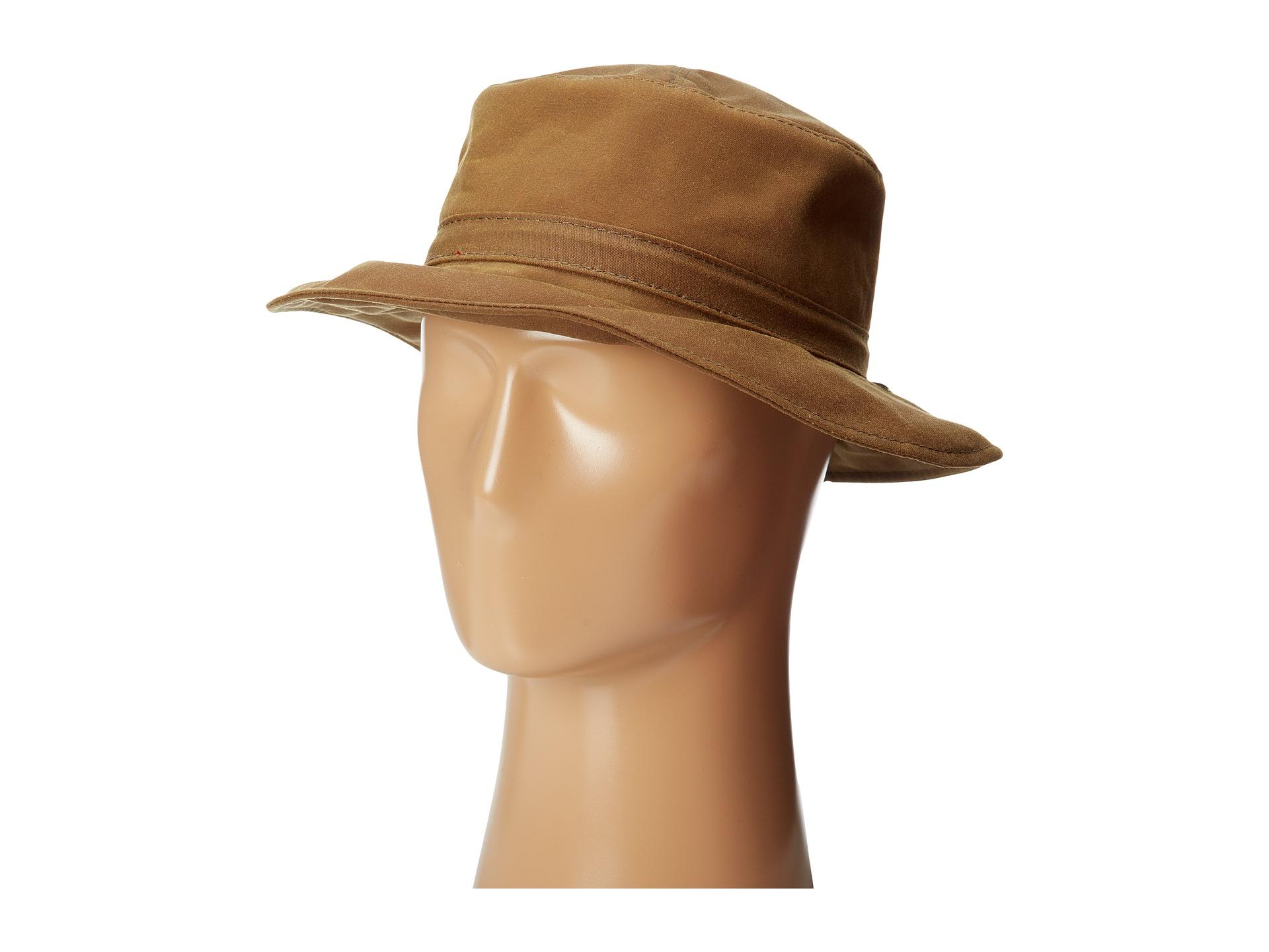 Woolrich Waxed Cotton Bucket Hat W  Micro Fleece Lining  c23a3047070
