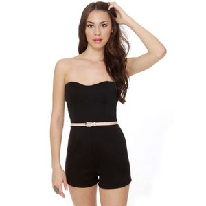 Alfa Global Women's Strapless Short Romper | Blingby - photo#11