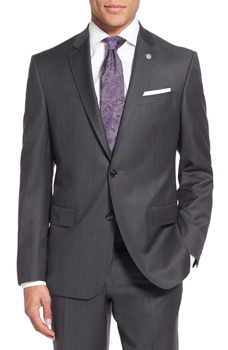 a33642392 Ted Baker London  Jay  Trim Fit Solid Wool Suit