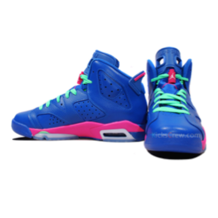 separation shoes 8c375 78fc1 Nike Air Jordan 6 Retro GG Game Royal | Blingby