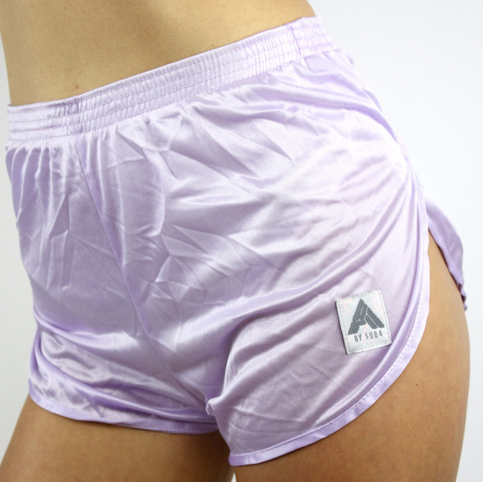 GET PHYSICAL LILAC SPORTS SHORTS