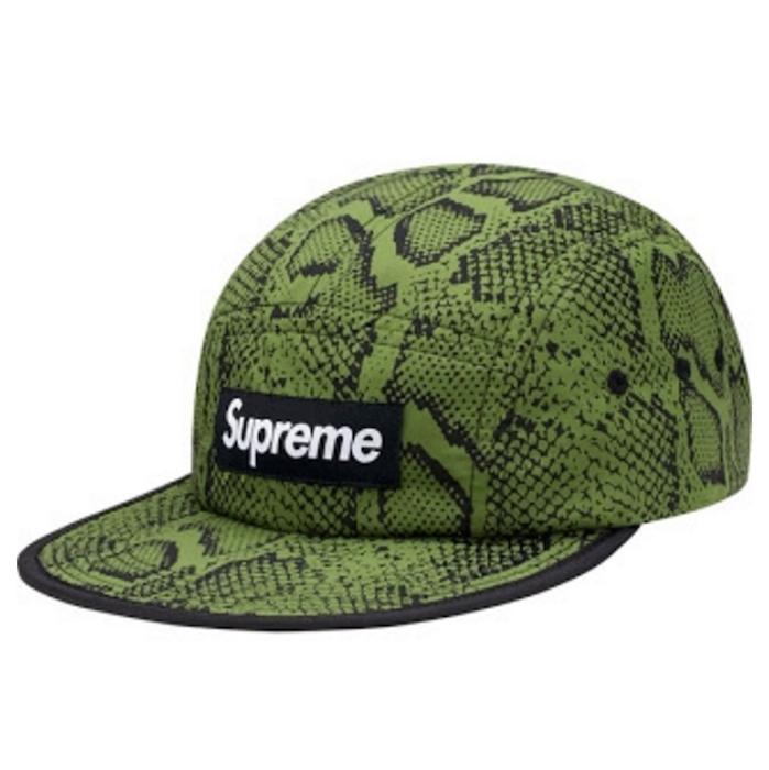 Supreme Snake Soft Bill Camp Hat  76a19726cb5