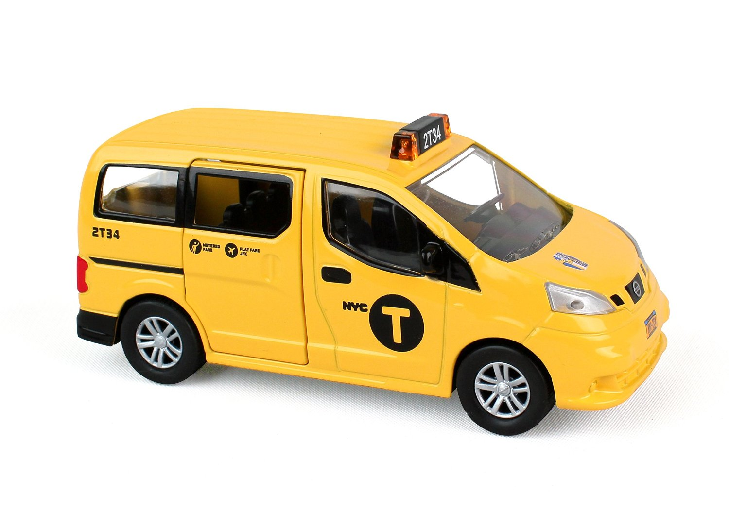 Daron Nyc Nissan Nv200 Taxi 1 43 Scale Blingby