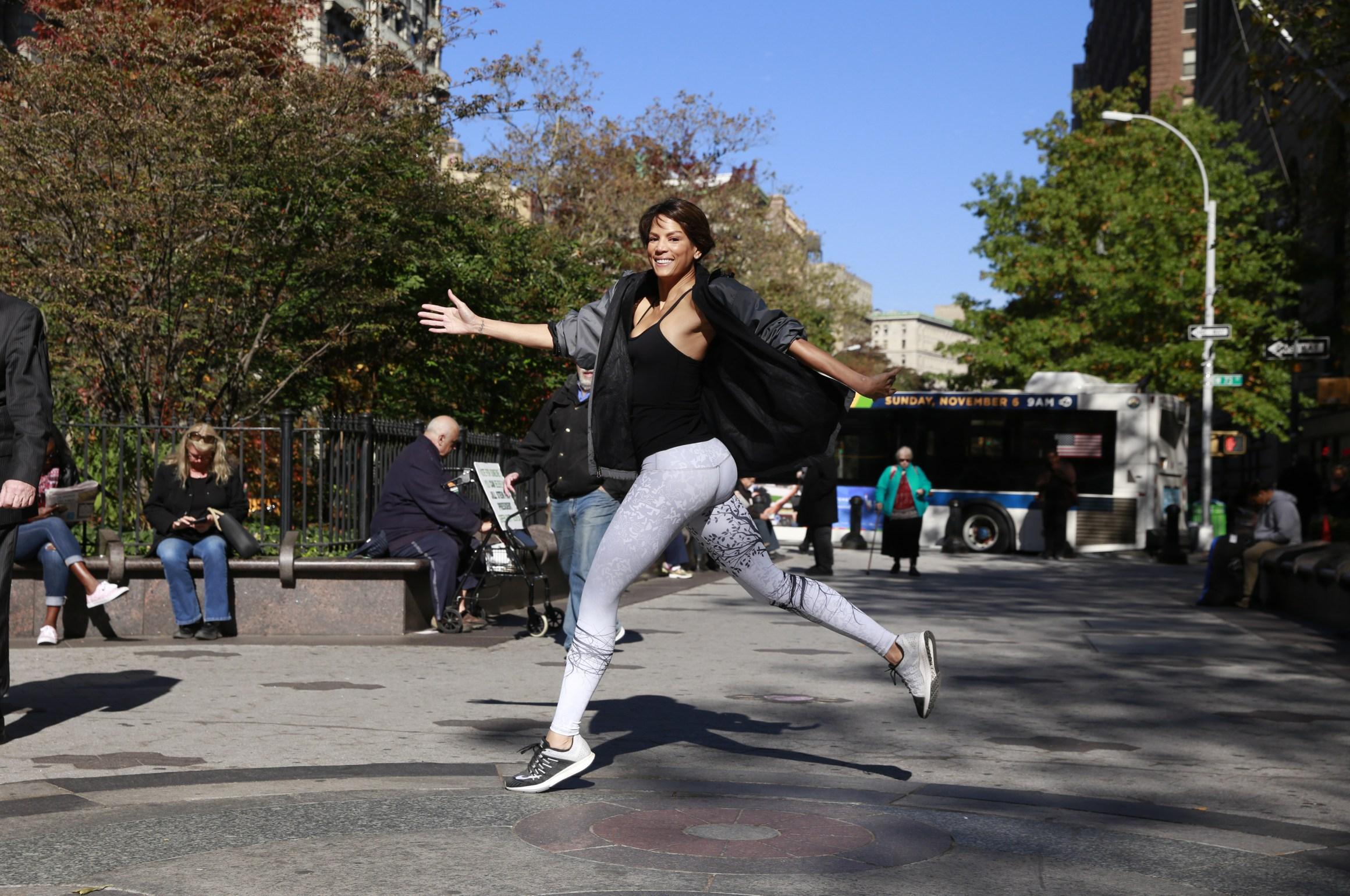 Veronica Webb Running