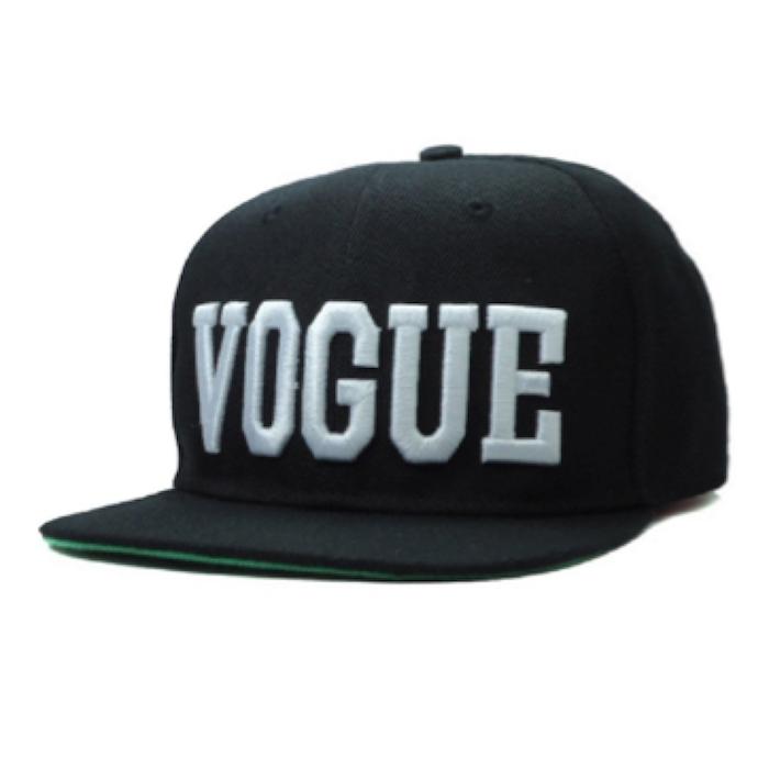 YOXO Black Letter Vogue Snapback Cap Hat for Men and Women Baseball ... c9ccccff9d3