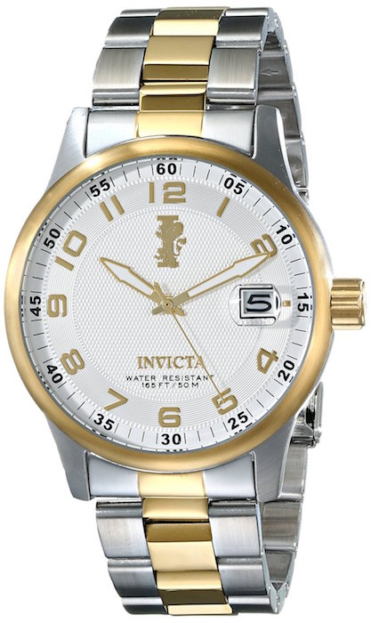 Invicta Men's 15260 I-Force 18k Gold Ion-Plated Stainless Steel Watch