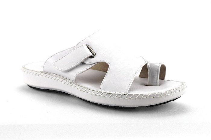 18c0ff8a718cb7 Majestic Men s 71205 Ring Toe Slip On Dress Sandals Shoes