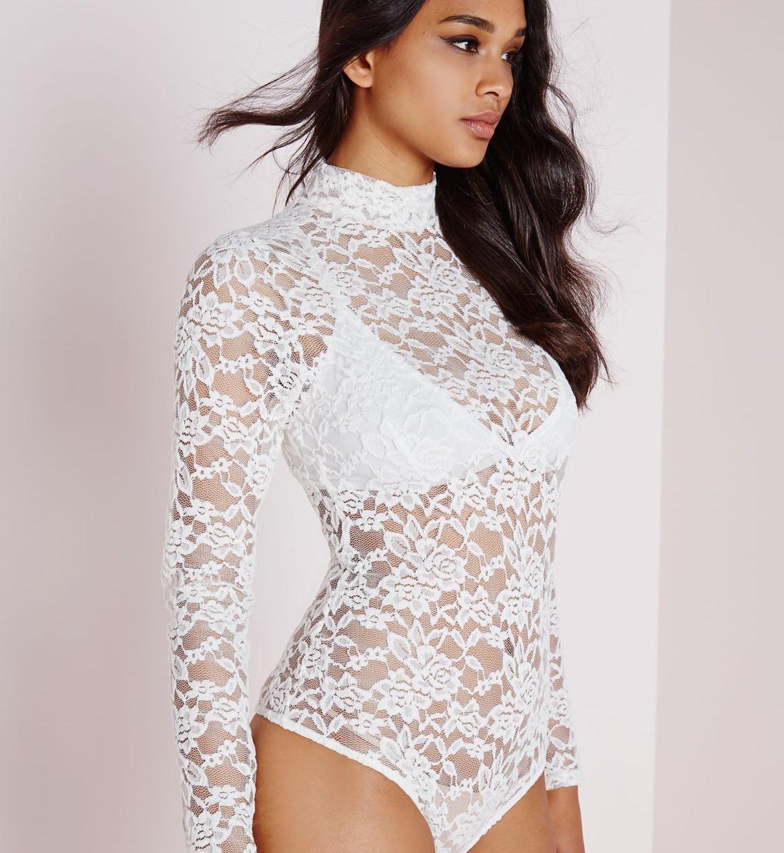 8af77a1880 lace bodysuit white