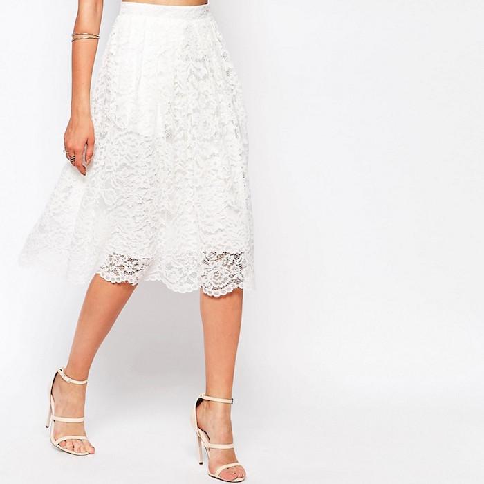 189a180f773 Missguided Premium Lace Full Midi Skirt