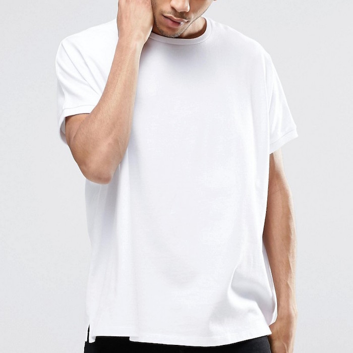 Asos Extreme Oversized T Shirt In Heavyweight Jersey In